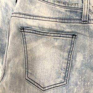 CURRENT/ELLIOT Washed Skinny Jeans Sz 29